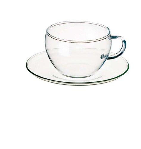 Bohemia Cristal 093/006/011 Eva - Juego de Tazas de café (4 Piezas, 250 ml)