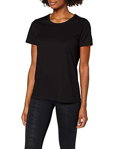 CMP Technical T-Shirt with UPF Femme, Black, 44