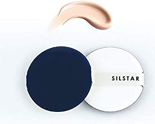 SILSTAR PROFESSIONAL AIR PUFF SPONGE AIR CUSHION PUFF FOR APPLYING BB CREAM, LIQUID CREAM AND POWDER 2PCS IN A PACK