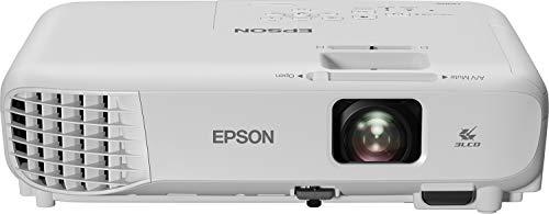 """Epson EB-W06 - Video Proiettore 3LCD Pannello RGB LCD, proiezione fino 320"""", Risoluzione WXGA 1280 x 800, contrasto 16.000:1, 3700 lumen, altoparlante e telecomando"""