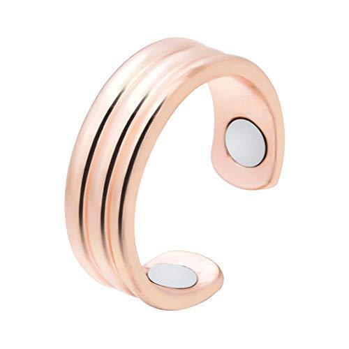 CampHiking Magnético Micro de la Moda del Anillo de la pérdida de Peso para el Anillo de Finger Que Adelgaza ardiendo Gordo