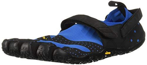 Vibram FiveFingers 19M7301 V-Aqua, Aqua Schuhe Herren, Blau (Blue/Black), 44 EU