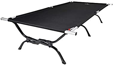 TETON Sports Outfitter XXL Camping Cot with Patented Pivot Arm; Folding Cot Great for Car Camping, 85