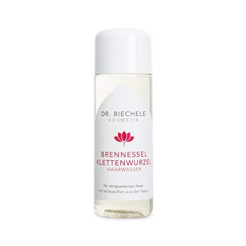 Dr. Biechele Brennessel Klettenwurzel Haarwasser I 150 ml Kopfwasser für strapaziertes Haar und gereizte Kopfhaut I Haartonikum mit natürlichen Extrakten I Haarpflege für starkes Haarwachstum