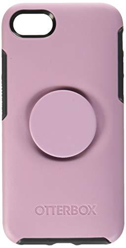 OtterBox für Apple iPhone SE (2nd gen)/8/7, Schlanke Schutzhülle mit integriertem PopSockets PopGrip, Otter + Pop Symmetry Series - Pink