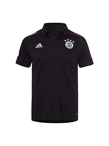 FC Bayern München Teamline Poloshirt schwarz, M