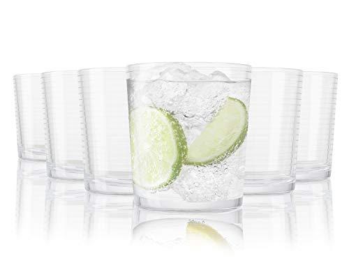 Pasabahce Andorra Bicchieri per Acqua - 390 ml - Set da 6 - Bicchieri di Alta qualità - Lavabili in Lavastoviglie - Bicchieri in Cristallo