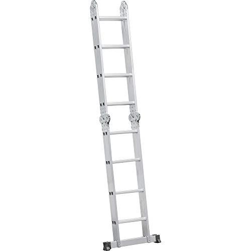 Escada Articulada em Alumínio, 4 x 4, Vonder VDO1935