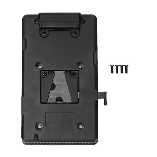 Rehomy Akku Rucksack Plattenadapter für Sony V-Mount V-Lock Akku für DSLR Camera Video Light