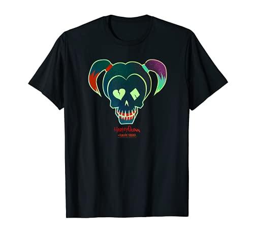 Suicide Squad Harley Quinn Skull T-Shirt