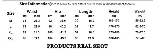 N\P Correr transpirable pantalones cortos de los hombres de secado rápido culturismo, Negro, 50