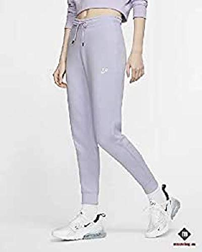 NIKE W NSW Essntl Pant Tight FLC Pantalones de Vellón, Mujer, Rosa (Watermelon/White), M