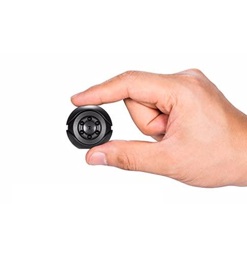 AMEA Mini cámara Full HD 1080P Cámara de Seguridad de Seguridad para el hogar con cámara Secreta con visión Nocturna Oculta Detección de Movimiento grabadora de Video