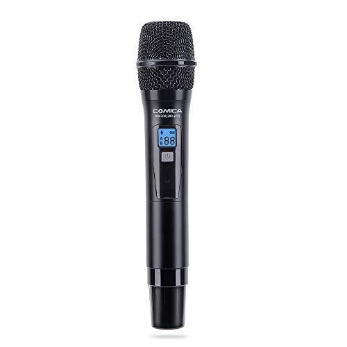 【Diseñado para sistemas de micrófono inalámbrico】 El transmisor de mano está diseñado para el sistema de micrófono inalámbrico COMICA WM200 / 300. 【Modo de filtro de corte bajo】 Utilizado en un entorno ruidoso para grabación de audio, puede cortar la...