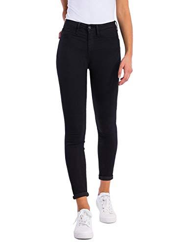 Tiffosi High_4 Jeans Skinny, Nero (Black Regular), Taglia Unica Donna