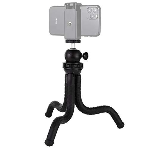 XHC Adaptador de Soporte de Soporte de Montaje Titular Mini Pulpo Flexible del trípode con Cabeza Circular for cámaras SLR, For Gopro, teléfono móvil, Tamaño: 30cmx5cm