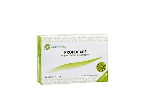 Propocaps - Grüne Propolis - 60 verblisterte Kapseln
