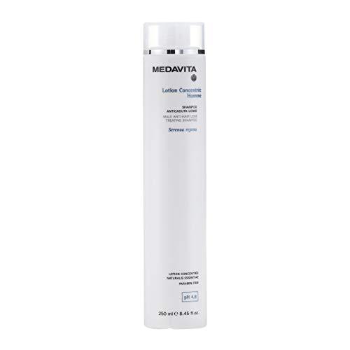 Medavita - Lotion Concentrée Homme, Shampoo Trattante Anticaduta Uomo Ph 4.8, Bianco, Officinale, 250 Millilitri