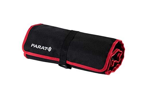 PARAT Werkzeugtasche Basic Roll-Up Case (20 Einsteckfächer, Nylon, mit Steckverschluss, 74x33x0,5 cm) 5990829991, schwarz