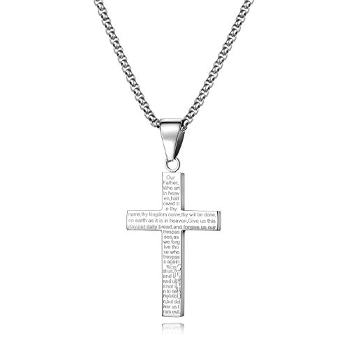 """Starmond Chain Necklace for Men Stainless Steel Pendant Jewelry 24"""" Round Box Chain"""