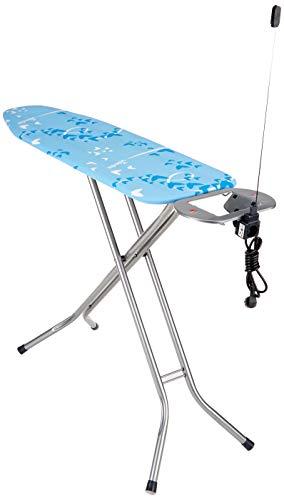 Vileda Viva Express Eco Bügeltisch blau – 120×38 cm große, dampfdurchlässige Bügelfläche – Anti-Rutsch-Füße für mehr Halt auf glatten Böden - 2