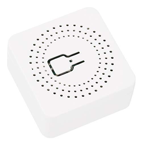 FOLOSAFENAR Módulo de Interruptor WiFi Interruptor eléctrico WiFi 16A PC Control Remoto Dual Inteligente Mini, para Caja de Interruptor de Pared