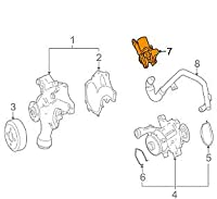 MB ML W164 Engine Cooling Shut-Off Valve A1562030164 NEW GENUINE