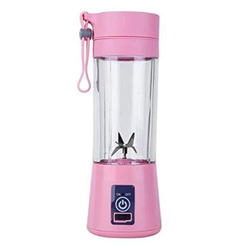 380 Ml Portable Blender, USB Juicer Mini Blenders Met 4 Roestvrijstalen Messen Milkshake Smoothie Maker Voor Home/Office/Sport/Reizen/Outdoors