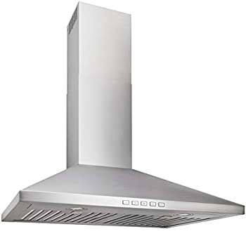 BROAN NUTone BWP2306SS Convertible Wall-Mount Chimney