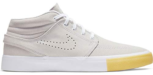 Nike Unisex-Erwachsene Sb Zoom Janoski Mid Rm Se Fitnessschuhe, Mehrfarbig (White/White/Vast Grey/Gum Yellow 000), 40.5 EU