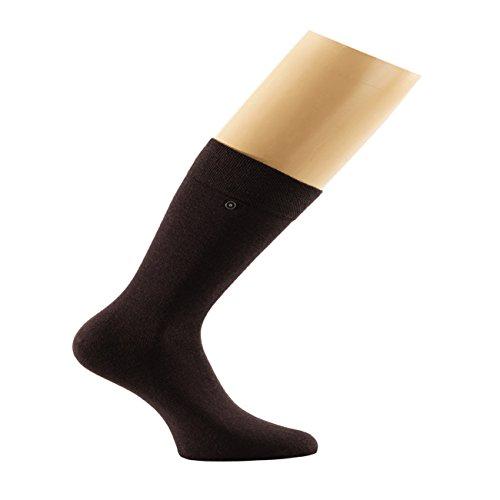 Snap Sock 2-er Pack Baumwolle Extra braunmeliert