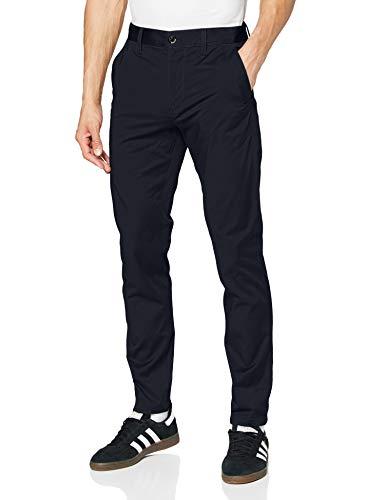 G-STAR RAW Bronson Slim Chino Pantalones, Azul (mazarine blue 5126-4213), 35W / 30L para Hombre