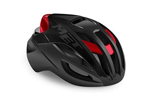 MET Rivale Helm rot Kopfumfang L | 58-61cm 2021 Fahrradhelm
