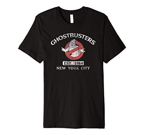 Ghostbusters EST. 1984 Premium T-Shirt, 5 Colors, S to 3XL