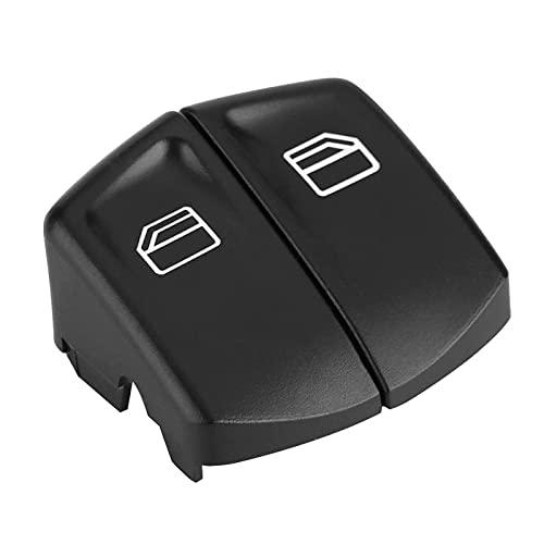 Cubierta del botón del interruptor, tapa del botón del interruptor de la ventana, 2 piezas de la tapa del botón del interruptor de la ventana eléctrica, ajuste derecho e izquierdo para MERCEDES VITO S