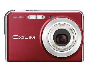 Casio EX-S880RD Ultra Slim - Cámara Digital Compacta 8.1 MP - Rojo (2.8 Pulgadas LCD, 3X Zoom Óptico)