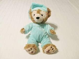 Disney Parks Hidden Mickey My First Duffy Bear Teddy Aqua Pajamas & Hat Fits 10