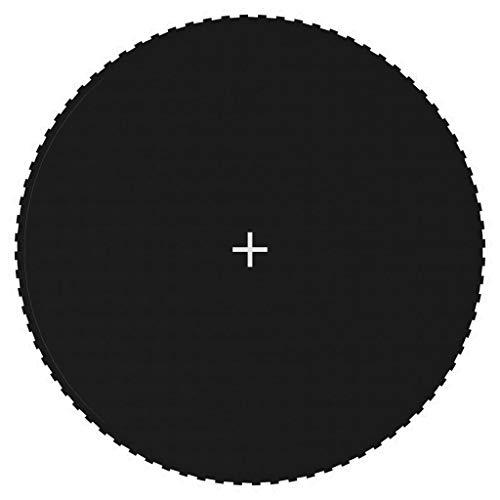 vidaXL Lona de Salto para Cama Elástica Redonda Colchonetas Suelos Seguridad Repuesto Alfombrilla Protección Estera Trampolín Tela Negro