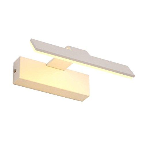 Skibril sportbril bril LED spiegel voorspiegel kast lamp wandlamp make-up lamp wit strepen licht - JBP2