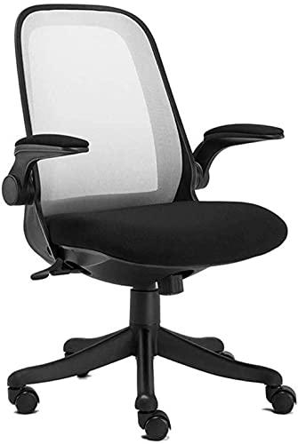 BeingHD Qualitätsbürostuhl, Bürostuhl mit Armlehne Gaming Stuhl Drehstuhl Executive Chair High-Back-Computerstuhl, ergonomischer Bürostuhl 360 Grad Schwenk (Color : Gray)