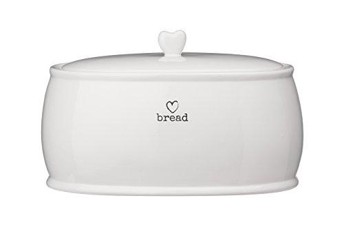 Premier Housewares Encanto Bote para té, cerámica, Blanco, 21 x 32 x 19 cm
