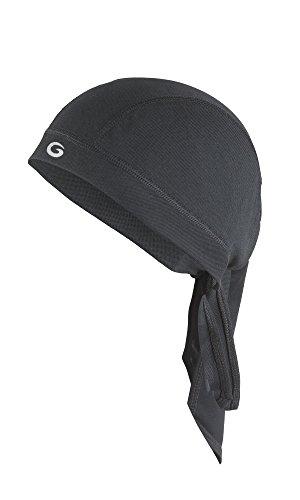 Gwinner Unisex Bandana Kopftuch Dryline, schwarz
