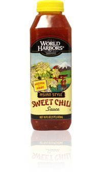 World Harbors Asian Style Sweet Chili Sauce, 16 Fluid Ounce -- 6 per case. by World Harbors