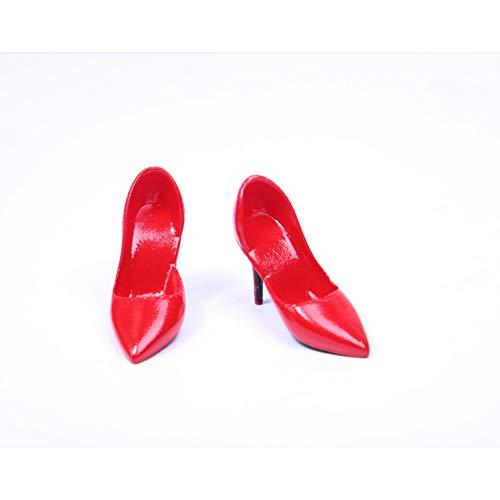 1/6 Hoge hakken pak Dames Schoenen Zacht Materiaal 6 Kleur Optionele Actie Poppenkleding voor HT VERYCOOL TTL Play PHICEN