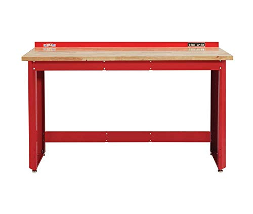 CRAFTSMAN 2000 Series Workbench, 6-Foot Wide with Butcher Block Top (CMST27200R)
