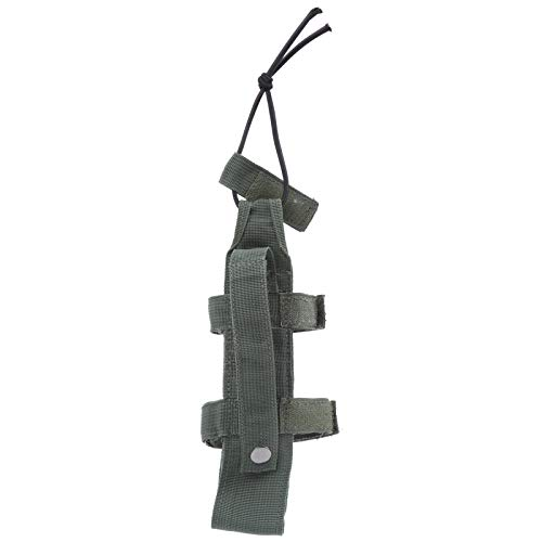 Omabeta Portabidones universal ajustable para exteriores, bolsa de sillín que satisface todo lo que necesitas para hombres y mujeres para niños y niñas (verde ejército)