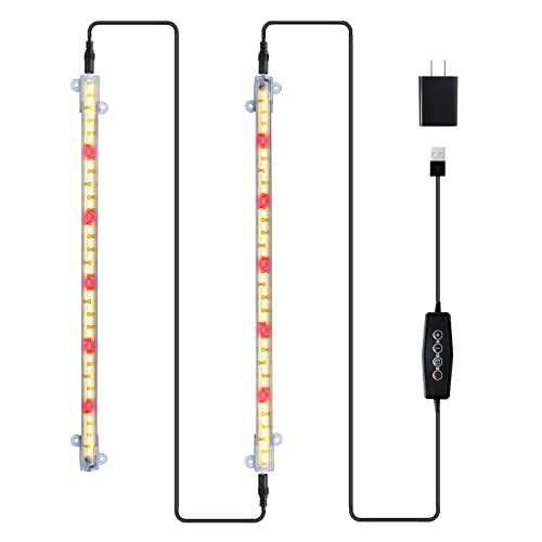 Grow Light Strips LED 60-Bulb 40W 3500K Full Spectrum Sunlight Plant Growing...