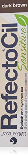 RefectoCil Sensitive Lash and Brow Tint 15 ml, marrone scuro