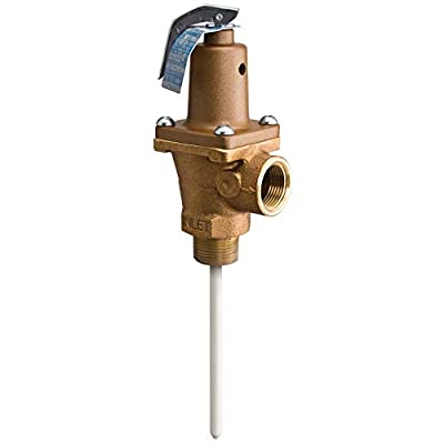 """Watts 40XL 3/4"""" Automatic Reseating Temperature & Pressure Relief Valve 156731 by Watts Regulator Co"""