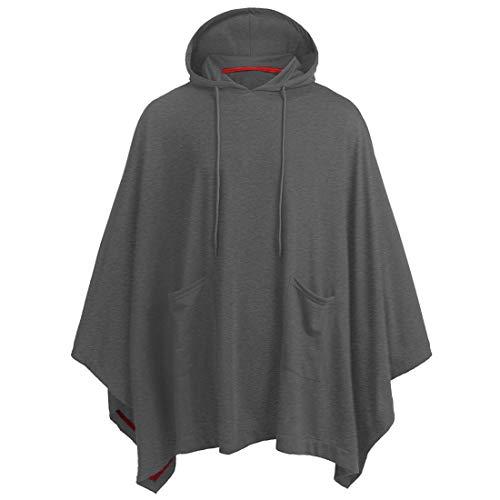 Men Hoodie Men Sweater Casual Comfortable Lightweight Batwing Sleeve Men Hoodie Fall New Oversize Blended Breathable Fashion Design Men Hoodie Fashion Men's Clothing G-Dark Gray XXL